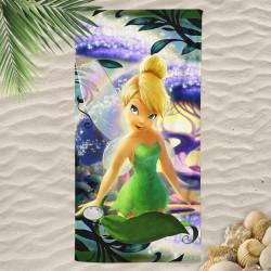 3D Плажна хавлиена кърпа TINKERBELL