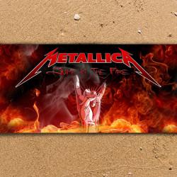 Плажна хавлиена кърпа Metalica Forever