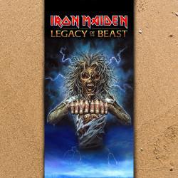 Плажна хавлиена кърпа Iron Maiden Legasy & Beast