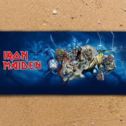 Плажна хавлиена кърпа Iron Maiden Group