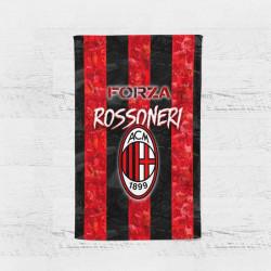 Плажна хавлиена кърпа Milan Rossoneri