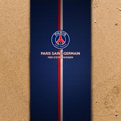 Плажна хавлиена кърпа Paris Saint German