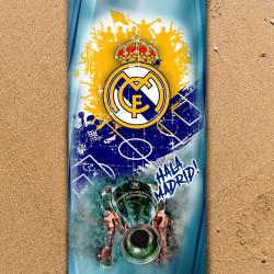 Плажна хавлиена кърпа Real Madrid