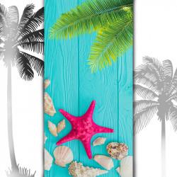 Плажна хавлиена кърпа Морска звезда