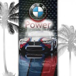 Плажна хавлиена кърпа Bmw Mpower