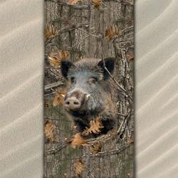 Плажна хавлиена кърпа Boar