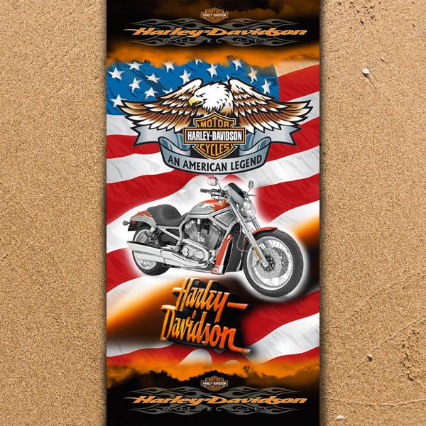 Плажна хавлиена кърпа Harley Davidson