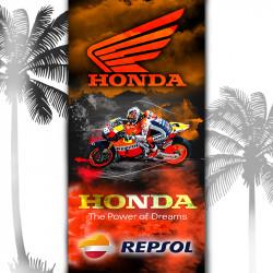 Плажна хавлиена кърпа Honda