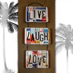 """Плажна хавлиена кърпа  """"LOVE LIFE"""""""