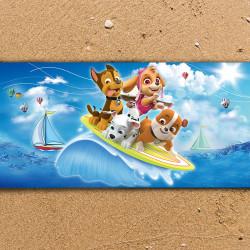 Плажна хавлиена кърпа Paw Ratrol