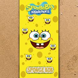 Плажна хавлиена кърпа SpongeBob
