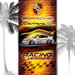 Плажна хавлиена кърпа Porche Carrera RS