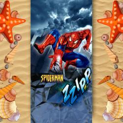 Плажна хавлиена кърпа Spider man