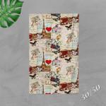 3D халиена кърпа 7754