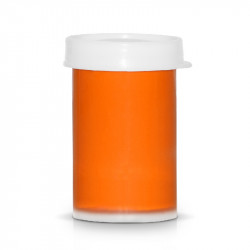 Акрилна боя за декорация на маникюр и педикюр - Тъмно оранжево (20 ml.)