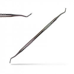 Метален двустранен инструмент за маникюр