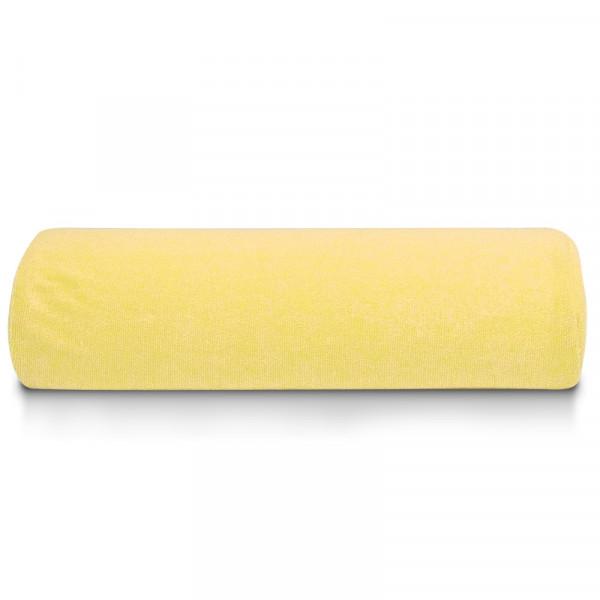 Хавлиена възглавничка за маникюр - Жълто
