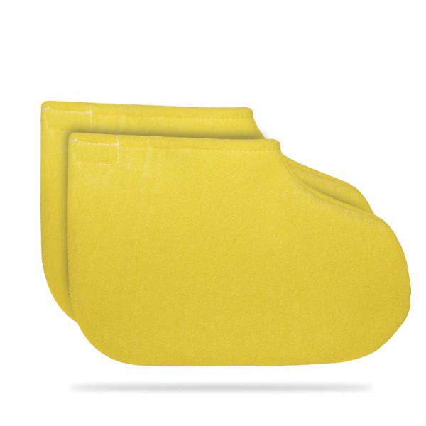 Хавлиени чорапи за парафинова терапия - банан