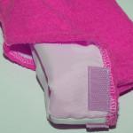 Хавлиени чорапи за парафинова терапия - циклама