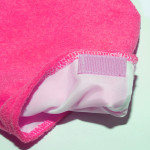 Хавлиени ръкавици за парафинова терапия - циклама