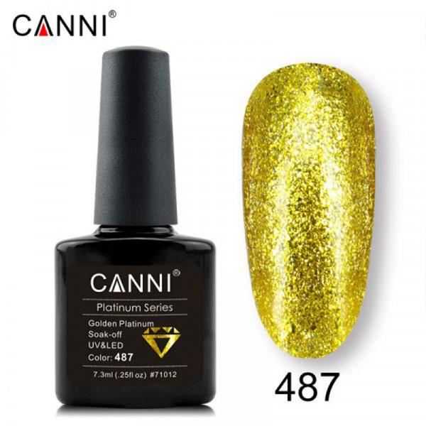 Uv/Led гел лак за нокти Canni Platinum 487