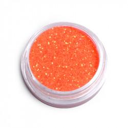 Фин брокат за декорация на маникюр (Тъмно Оранжево)