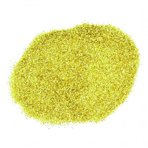 Брокат за декорация на маникюр (Жълто)