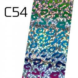 Широко декоративно фолио за нокти C54