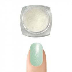 Пигментна пудра Русалка ефект за декорация на нокти (Зеленикава)