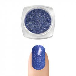 Пигментна пудра Русалка ефект за декорация на нокти (Тъмно син)