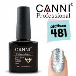 Uv/Led гел лак за нокти Canni Platinum 481