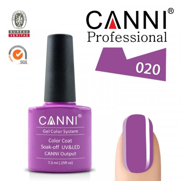 Uv/Led гел лак за нокти Canni 020