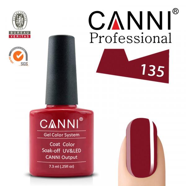 Uv/Led гел лак за нокти Canni 135