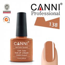 Uv/Led гел лак за нокти Canni 138
