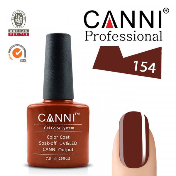 Uv/Led гел лак за нокти Canni 154