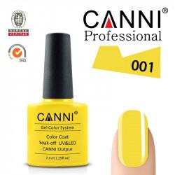 Uv/Led гел лак за нокти Canni 001