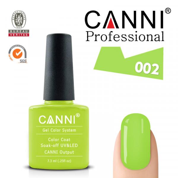 Uv/Led гел лак за нокти Canni 002
