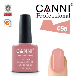 Uv/Led гел лак за нокти Canni 058