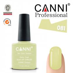 Uv/Led гел лак за нокти Canni 081