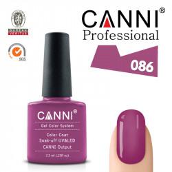 Uv/Led гел лак за нокти Canni 086