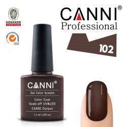 Uv/Led гел лак за нокти Canni 102