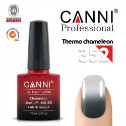 Canni Uv / Led гел лак за нокти Chameleon Thermo 352