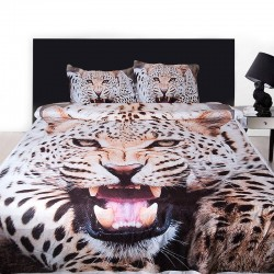3D луксозен спален комплект с Jaguar