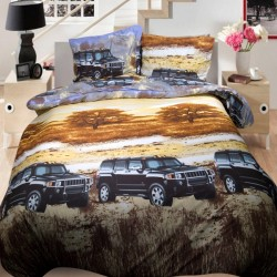 3D луксозен спален комплект Джипове