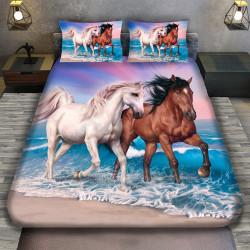3D луксозен спален комплект КОНЕ