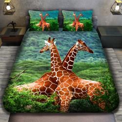 3D луксозен спален комплект GIRAFFE