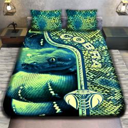 3D луксозен спален комплект COBRA