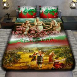 3D луксозен спален комплект 7406