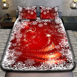 3D луксозен спален комплект MERRY CHRISTMAS