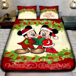 3D луксозен спален комплект MERRY CHRISTMAS MINI MIKI